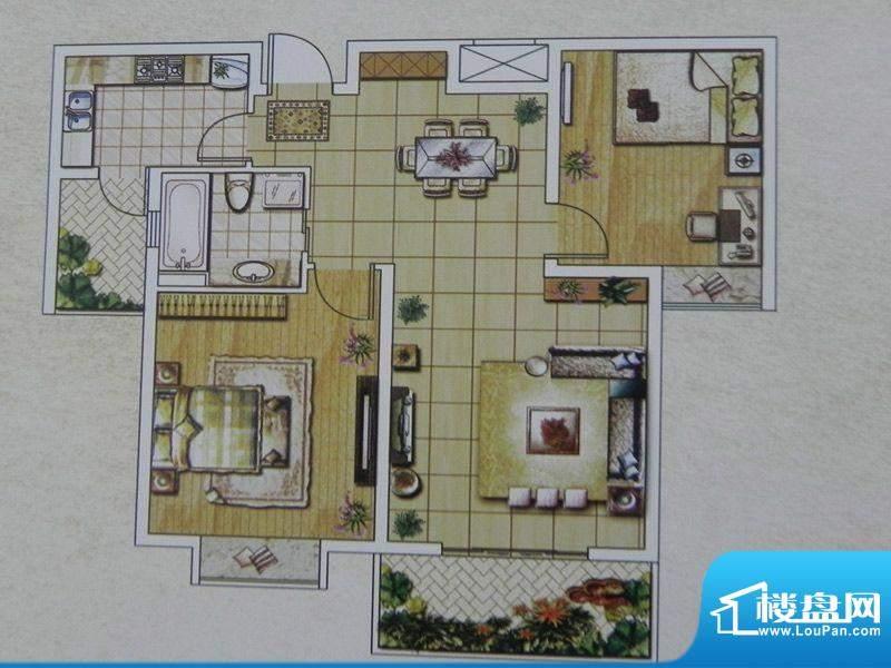 西城名邸6/7/9号楼 面积:95.03m平米