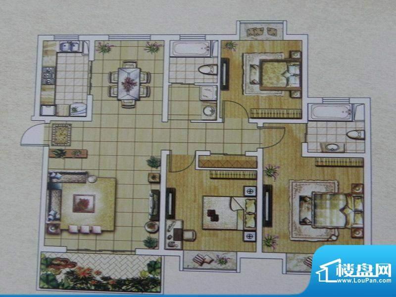 西城名邸6/7/9号楼 面积:129.00m平米