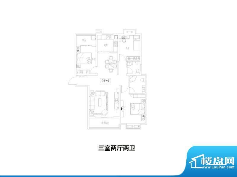 中景门·国贸户型1 面积:0.00m平米