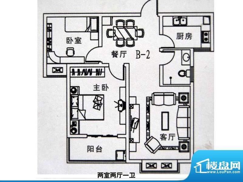 中景门·国贸户型2 面积:0.00m平米