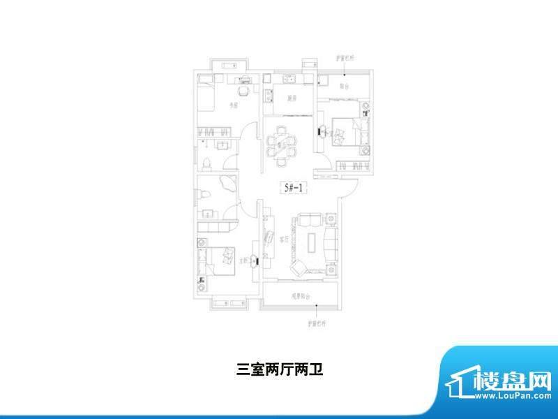 中景门·国贸户型图面积:0.00m平米