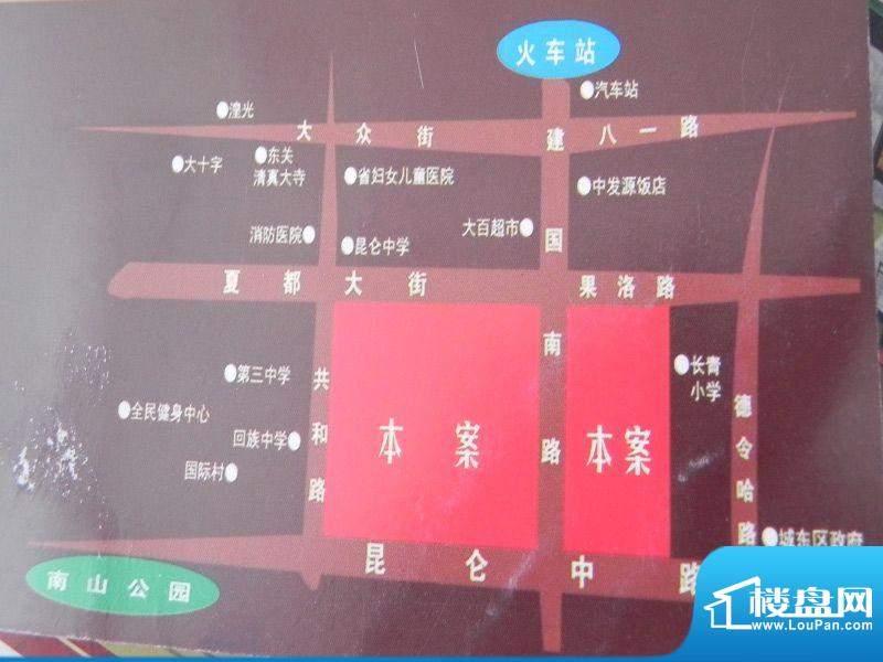 新千国际广场交通图