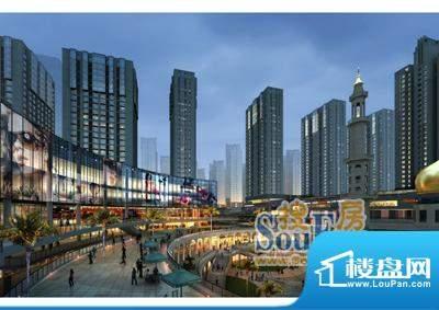 新千国际广场清真寺广场外景(2011-5)