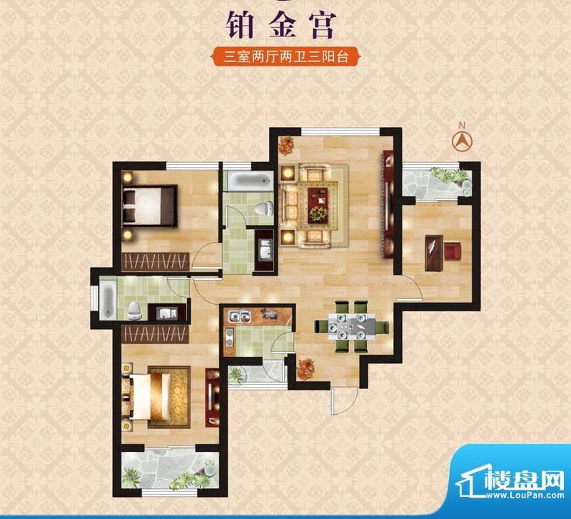 海昌·东城一品B3铂面积:0.00m平米