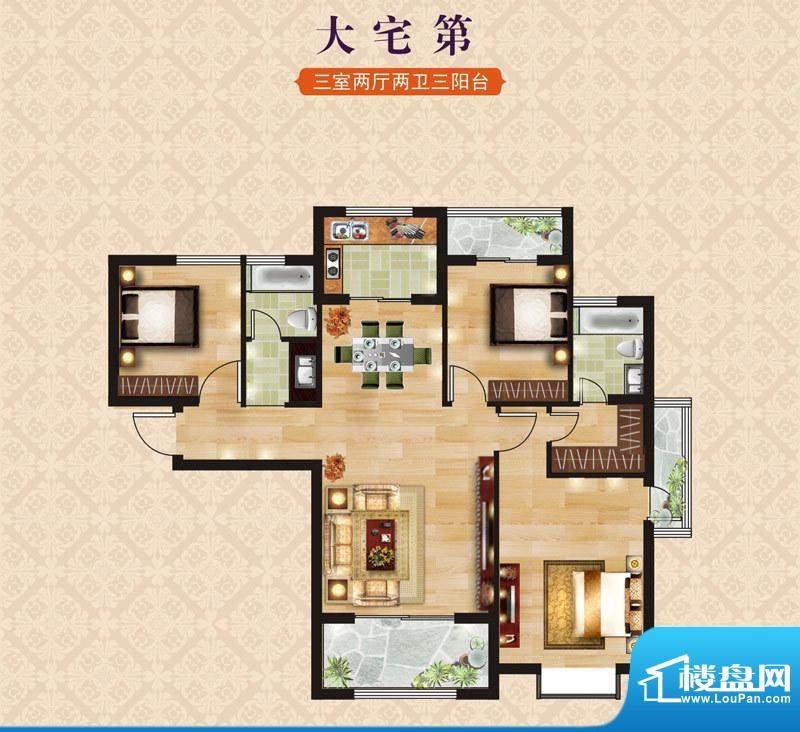 海昌·东城一品B1大面积:0.00m平米