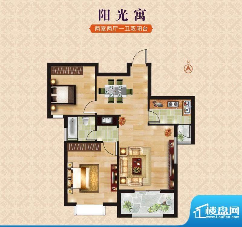 海昌·东城一品A1阳面积:0.00m平米