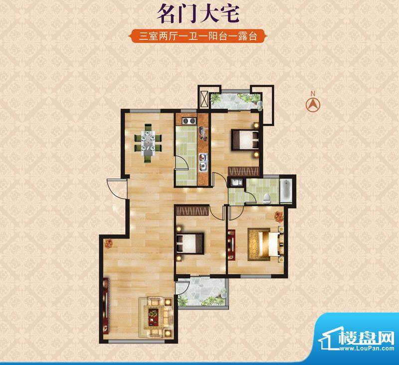 海昌·东城一品B6名面积:0.00m平米