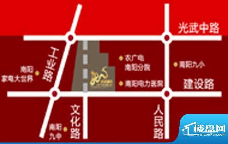 盛世龙源交通图