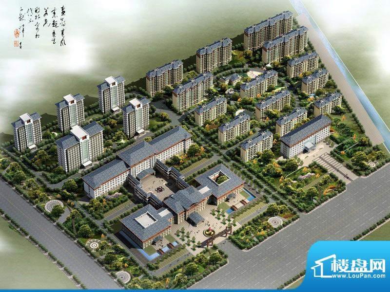 中达·白河首府俯瞰图