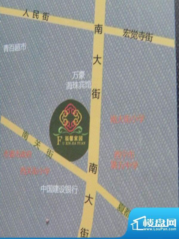 福馨家园交通图