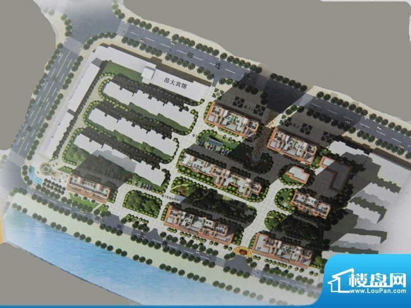 锦青花园交通图