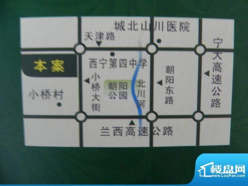 盛华景苑交通图