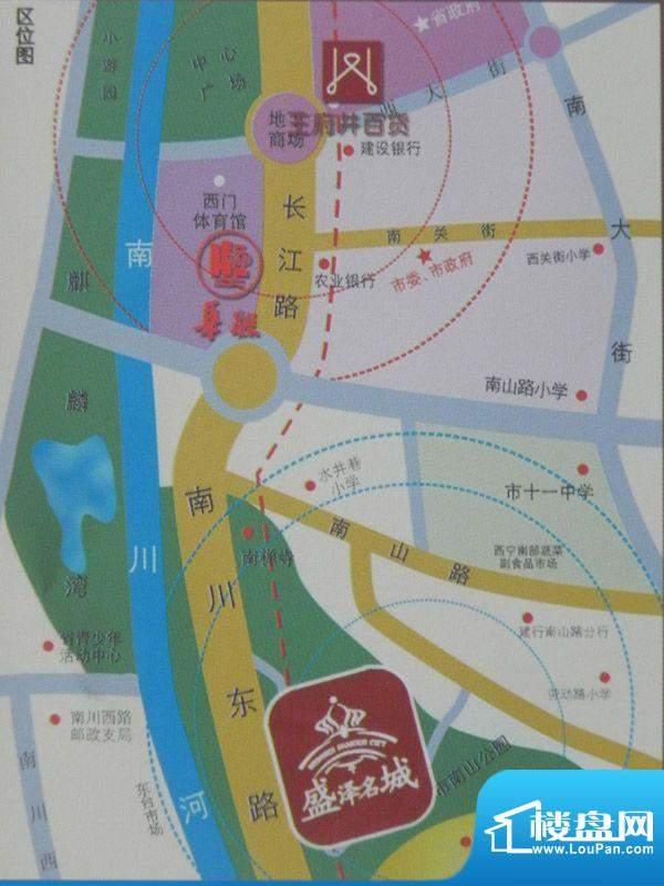 盛泽名城交通图