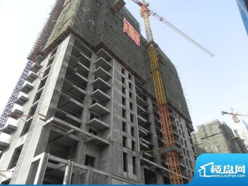 世纪丽都2号楼外景(2012-2-7)