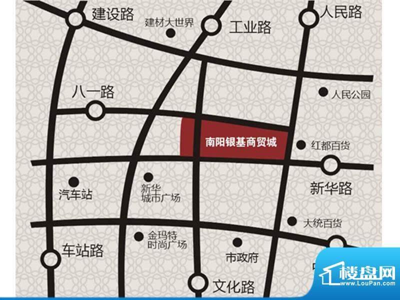 南阳银基商贸城交通图