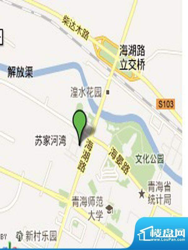 新华联广场交通图