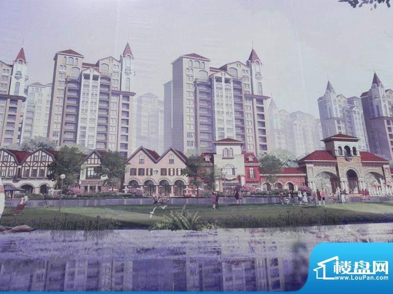 新华联广场效果图