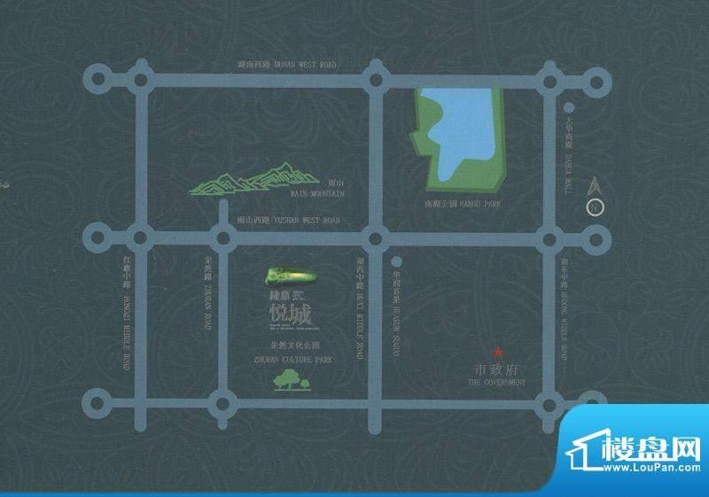 中冶·钟鼎悦城交通图