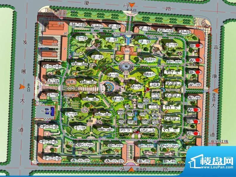 兰亭御城交通图