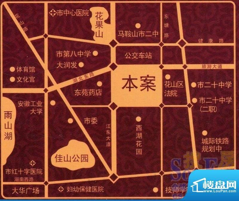 汇成上东交通图