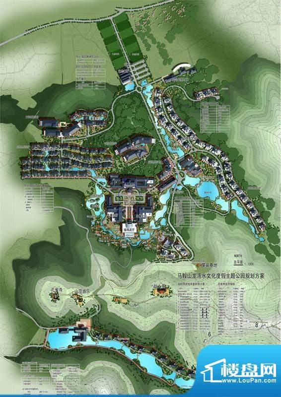 龙湾水文化度假主题公园交通图
