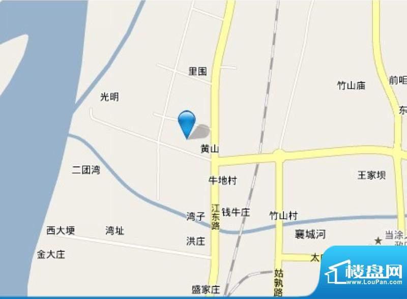 翠湖林居交通图
