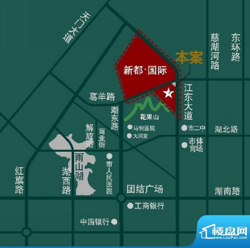 秀水山庄交通图