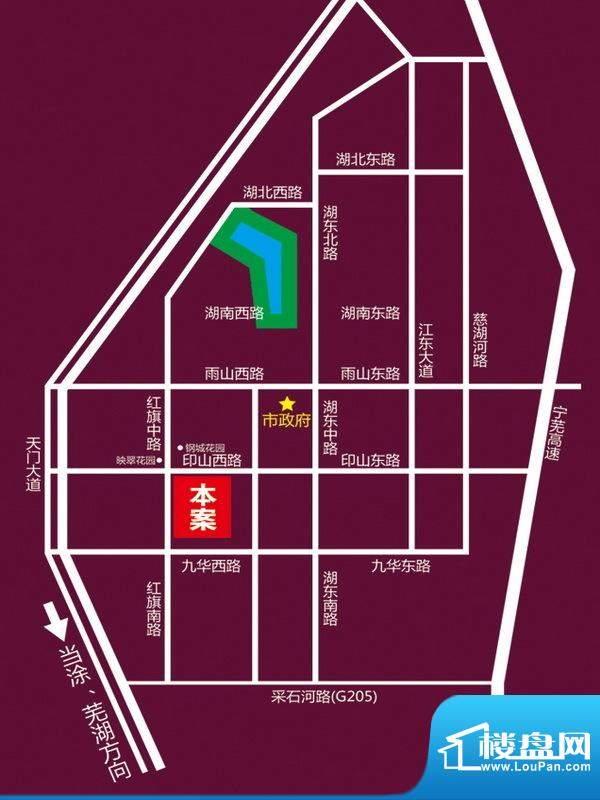 亿丰环球商业中心交通图