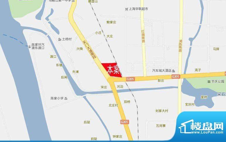 滨江郡交通图