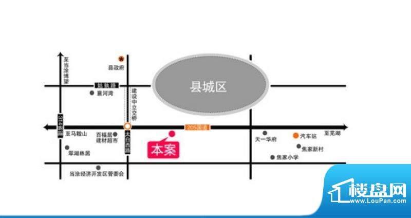 新大陆商业广场交通图