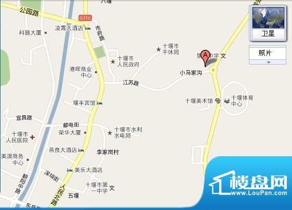 东正国际交通图
