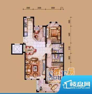 上海城实景图