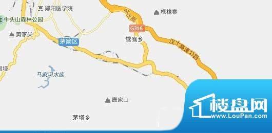 日盛·中央华府交通图