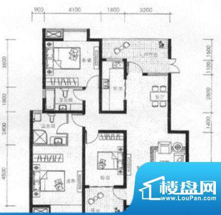 翔龙·四方新城hu44面积:0.00m平米