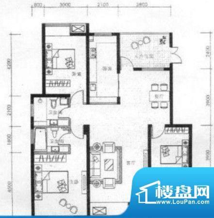 翔龙·四方新城hu33面积:0.00m平米