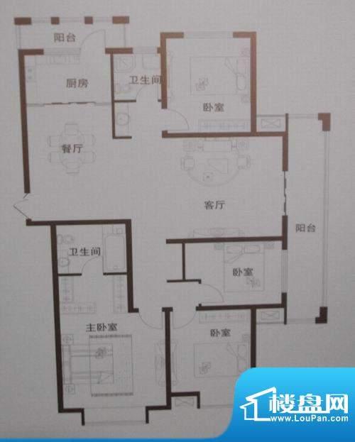 中乐百花公馆调整大面积:0.00m平米