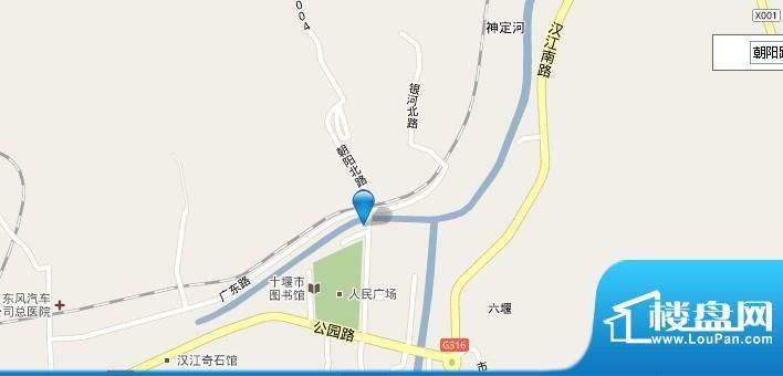 万隆国际商城交通图