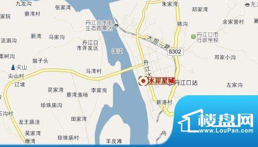 水岸星城交通图