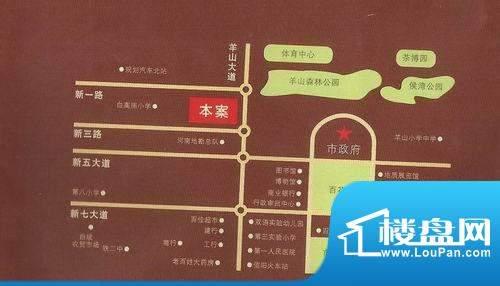 和源·壹号公馆交通图