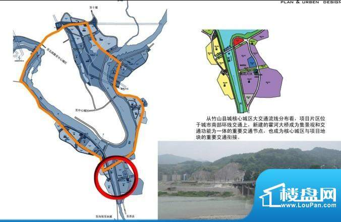 国际绿松石城交通图