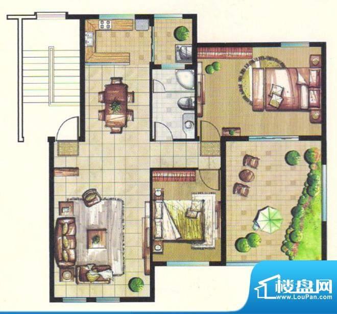 台北城上城C19-6户型面积:0.00m平米