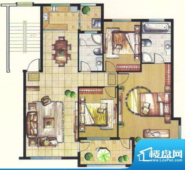 台北城上城C19户型图面积:0.00m平米