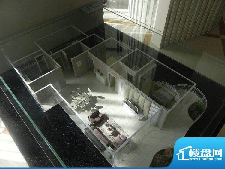 阳光水岸A户型3室面积:204.56m平米