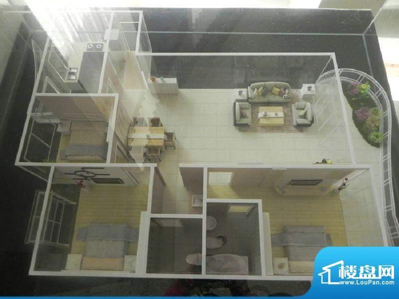 阳光水岸C户型 3室2面积:178.63m平米