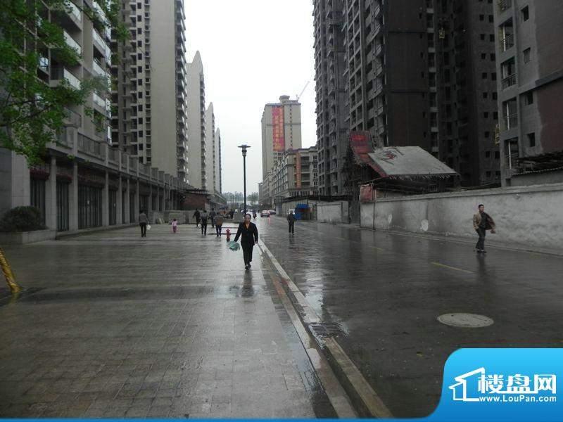 领地亚马逊三期楼盘东面临街商铺(2012