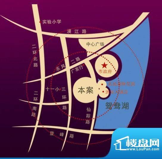 名扬·汇峰交通图