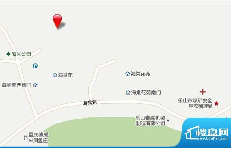 七星海棠交通图
