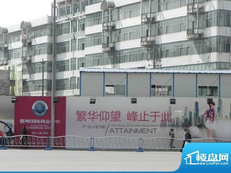 嘉州国际商业中心实景图