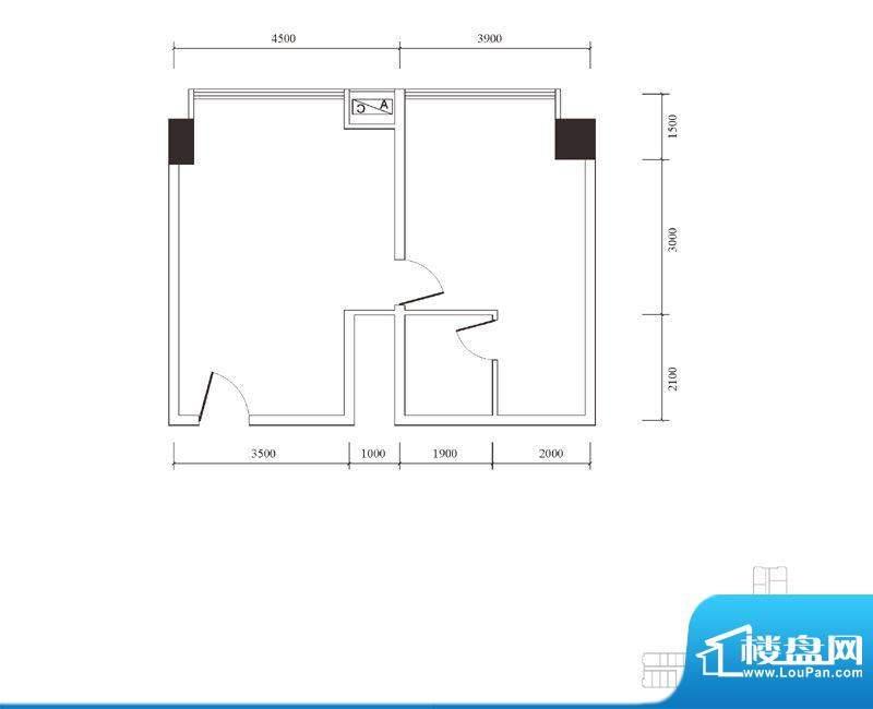 嘉州国际商业中心分面积:0.00m平米