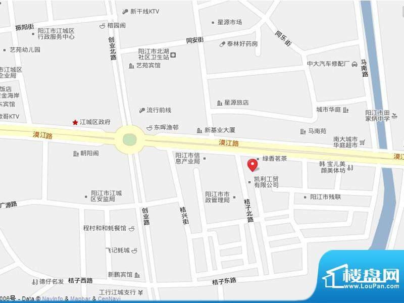 翡翠公寓交通图